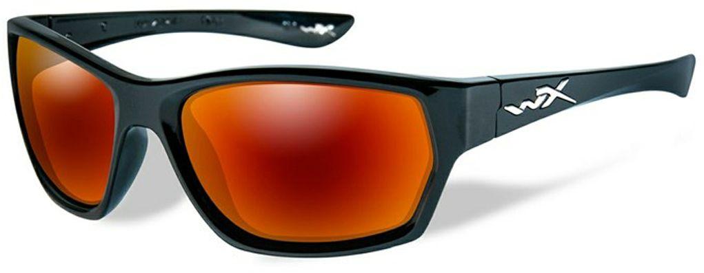Очки солнцезащитные WileyX Moxy Polarized, для охоты, рыбалки и активного отдыха, цвет: Crimson Mirror, Smoke GreySSMOX05Если вы ищете стильные и жесткие очки - вы нашли их! Эта великолепно выглядящая комбинация глянцевой черной оправы и поляризованных зеркальных линз имеет довольно классический и одновременно ультрасовременный внешний вид. Поляризованные дымчато-багровые линзы отлично подходят условий, с которыми вы столкнетесь на склонах во время занятия сноубордингом или катания на лыжах, однако, они не менее эффективны во время управления автомобилем в солнечный день. ПОЛЯРИЗАЦИОННЫЙ ФИЛЬТР 8ТМ Запатентованная WileyX технология поляризации линз обеспечивает 100% поляризацию и 100% защиту от ультрафиолетовых лучей для непревзойденной четкости и контрастности изображения. ЗАЩИТА ОТ УДАРОВ НА ВЫСОКОЙ СКОРОСТИ Оправа и линзы должны выдерживать удар тяжелого снаряда весом 500 гр, падающего с высоты 127 см ПРОЧНОЕ ПОКРЫТИЕ Устойчивое к царапинам покрытие защищает линзы от механических повреждений и продлевает срок их службы. АНТИБЛИКОВОЕ ПОКРЫТИЕ Антибликовое покрытие устраняет нежелательные отражения...
