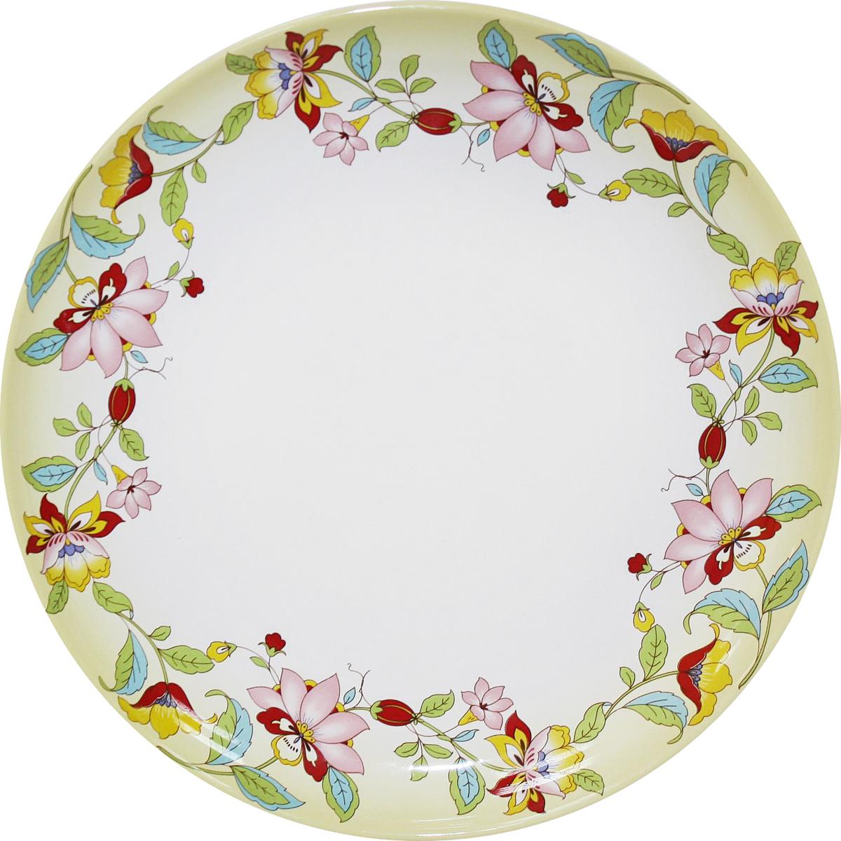 Блюдо Azulejo Espanol Ceramica Sunny Flowers, 26,5 см216849