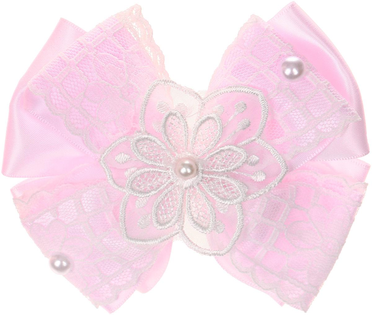 Babys Joy Резинка для волос Бант цвет розовый белый MN 200MN 200_розовый, белое кружевоРезинка для волос Babys Joy Бант позволит не только убрать непослушные волосы с лица, но и придать образу романтичности и очарования. Такая резинка для волос подчеркнет уникальность вашей маленькой модницы и станет прекрасным дополнением к ее неповторимому стилю.