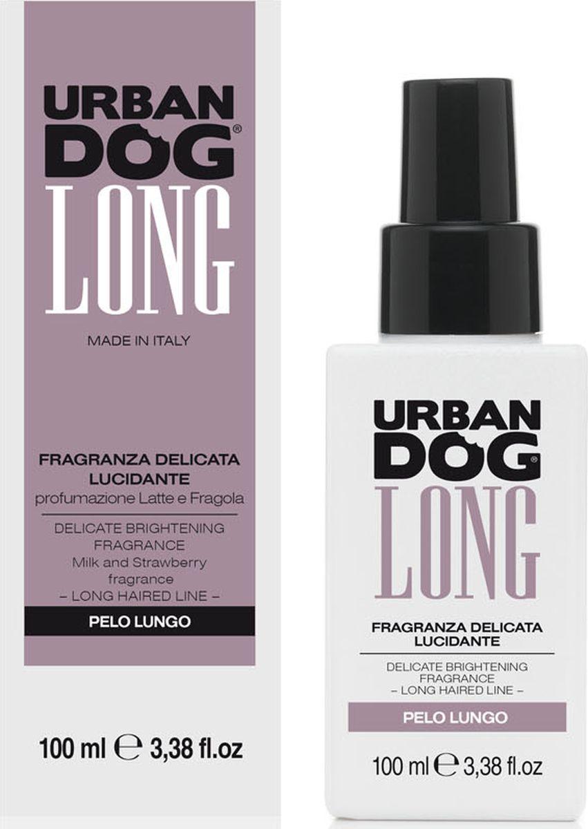Бальзам для собак Urban Dog, нежного действия с блеском для длинношерстных пород, аромат клубники со сливками, 100 млUD3002FLLНежный и дезодорирующий аромат, который не нарушает естественную регуляцию сальных желез и обоняние щенка. Отлично подходит в качестве средства для придания блеска шерсти.