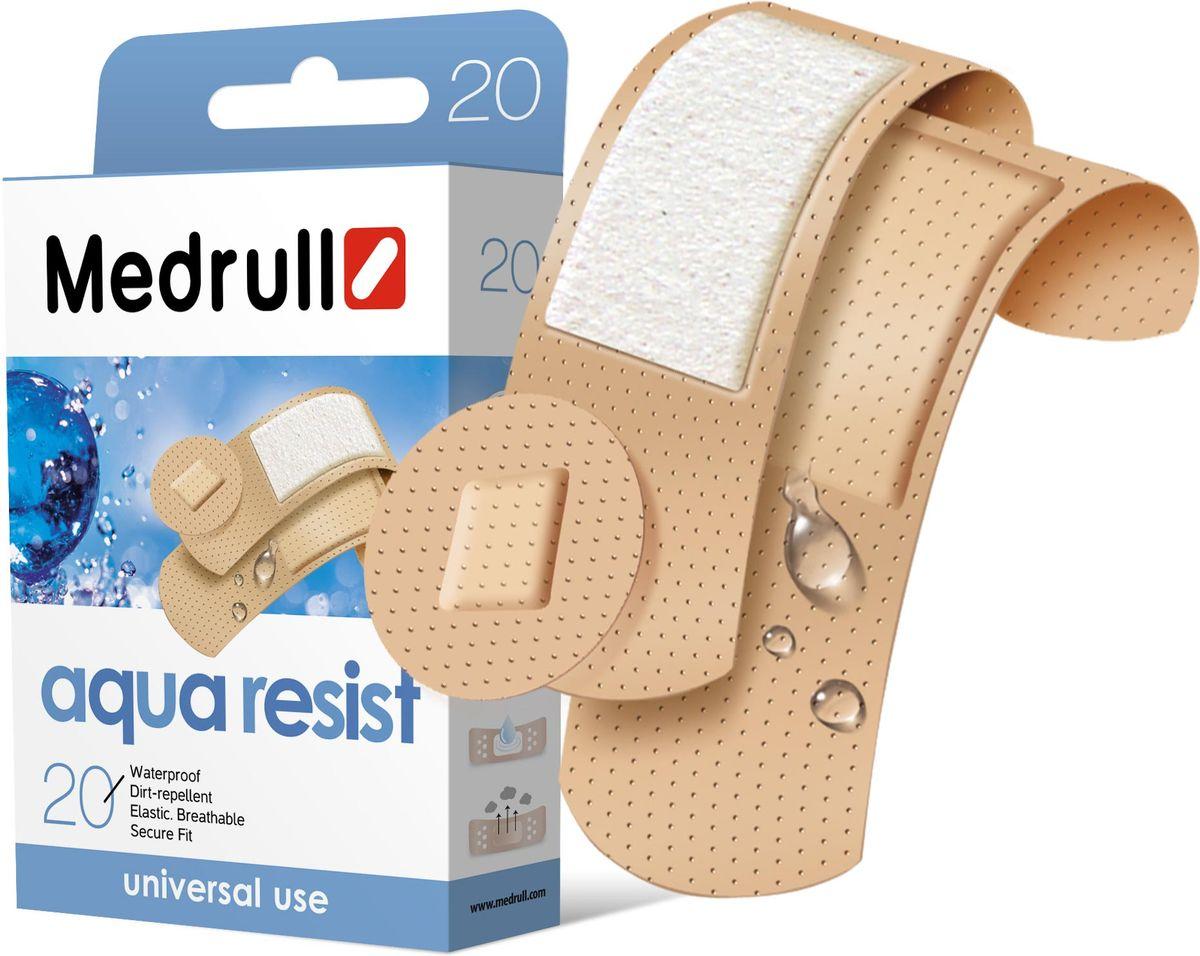 Medrull Набор пластырей Aqua Resist, №20адаптер WN-114 adult/chilУниверсальные пластыри удобно и легко защитят рану от попадания влаги и грязи. Изготовлены из тонкого, перфорированного, полимерного материала, благодаря перфорации не препятствуют доступу воздуха к коже. Свойства пластыря: водонепроницаемые, грязенепроницаемые, гипоаллергенные, эластичные, дышащие, плотно прилегающие. Абсорбирующая подушечка изготовлена из вискозы и обладает высокой впитываемостью. Верхняя часть подушечки обработана полипропиленом, что защищает от вероятности прилипания пластыря к поврежденной поверхности кожи.