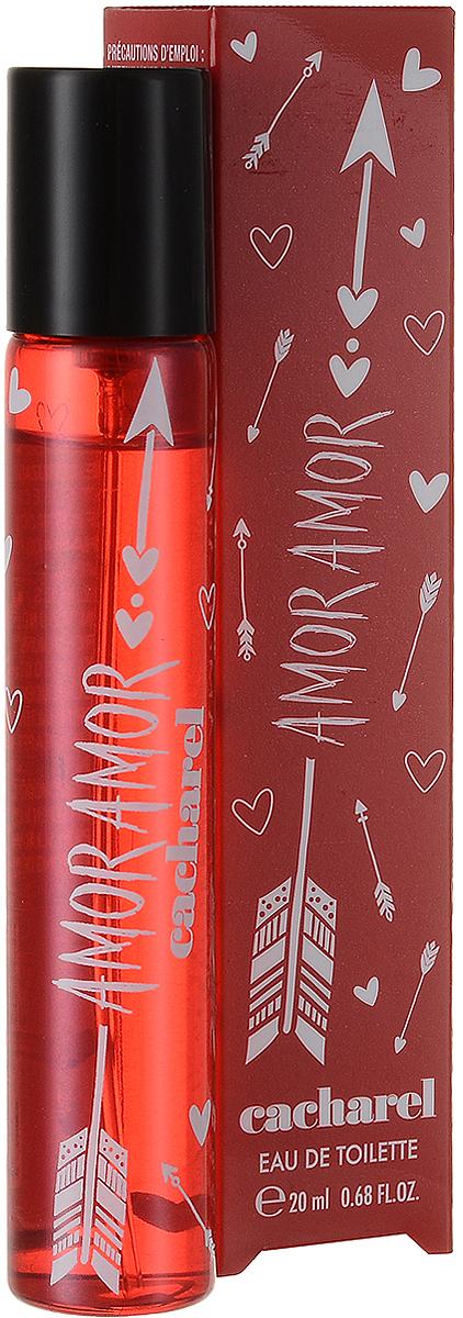 Cacharel Туалетная вода женская Amor Amor 20 мл28420_красныйAmor Amor – аромат, покоряющий сердца, наполняющий романтикой и любовью.