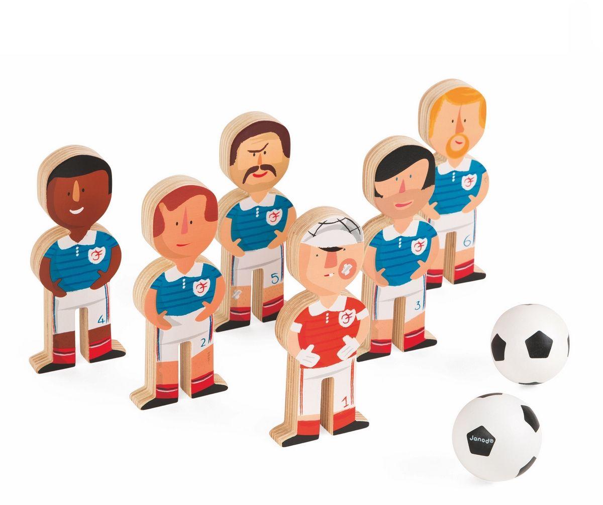 Janod Игровой набор Боулинг Футболисты