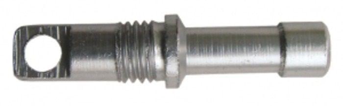 Концевики дуг Tramp, цвет: металл, 8,5мм, 10 шт. TRA-014АМNB-503С резьбой для алюминиевых дуг.