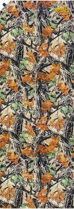 Коврик самонадувающийся Tramp, цвет: камуфляж, 185х66х0,5 см. TRI-007TRI-007Внутренняя структура: вертикальные каналы Размер: 188 х 65 х 5 см Допустимая нагрузка: 130 кг Полный вес: 1,8 кг Размер в упаковке: 65х17 см Ковер имеет чехол и стягивающие ремни.