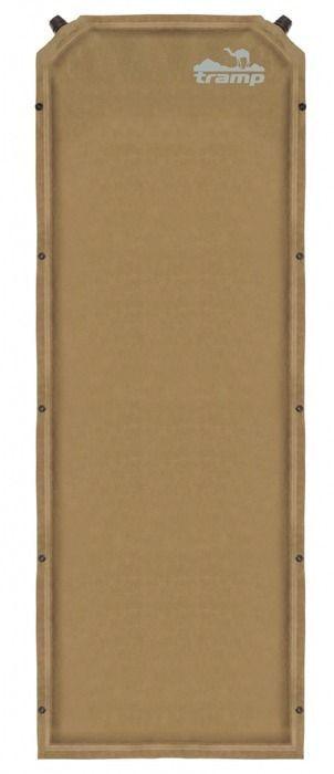 Коврик самонадувающийся Tramp, цвет: бежевый, 190х65х7,0см. TRI-009