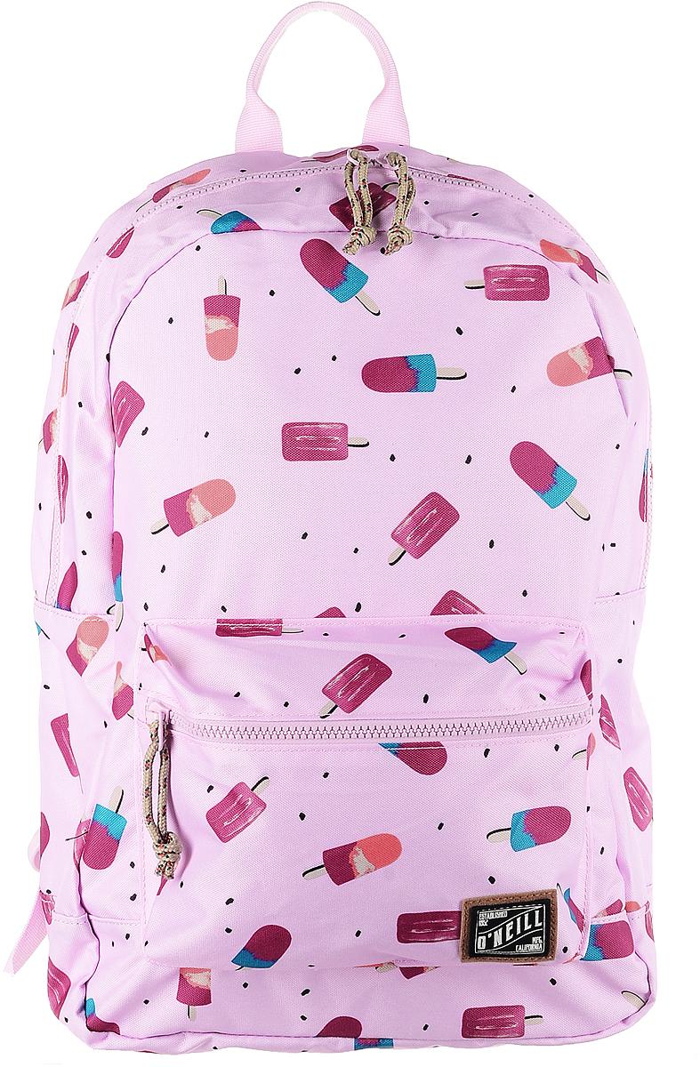 Рюкзак городской ONeill Bm Coastline Backpack, цвет: розовый7A4016-3900