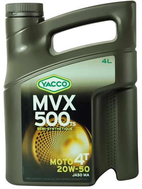 Масло Yacco MVX 500 TS 4T 20W50, для мотоциклов с 4-тактными двигателями, 4 л2706 (ПО)MVX 500 TS 4T 20W-50 Полусинтетическое масло для мотоциклов с 4-тактными двигателями ПРИМЕНЕНИЕ Специально разработанная формула масла для двигателей с большим объемом каждого цилиндра (мощные сдвоенные V-образные двигатели или двигатели с параллельным расположением цилиндров, одноцилиндровые двигатели). Отвечает требования компании Harley-Davidson и требованиям к каталитическим нейтрализаторам. Для снижения расхода масла данный продукт может также использоваться в 4 или 6цилиндровых двигателей для большого километража. Масло используется также для смазки встроенных коробок передач, обеспечивая надлежащую защиту узла «коробка/сцепление» (JASO MA2). ПРЕИМУЩЕСТВА • Класс вязкости 20W-50 снижает расход масла и обеспечивает оптимальную смазку в высокотемпературных режимах • Отличные моющие и диспергирующие свойства • Высокие фрикционные свойства гарантируют надежную работу сцепления • Высокоэффективная защита двигателя и коробки передач от износа • Поддержание первоначальных характеристик двигателя с обеспечением оптимальной защиты от образования осаждений СПЕЦИФИКАЦИИ И ОДОБРЕНИЯ MVX 500 TS 4T 20W-50 соответствует требованиям спецификаций: JASO MA API SL