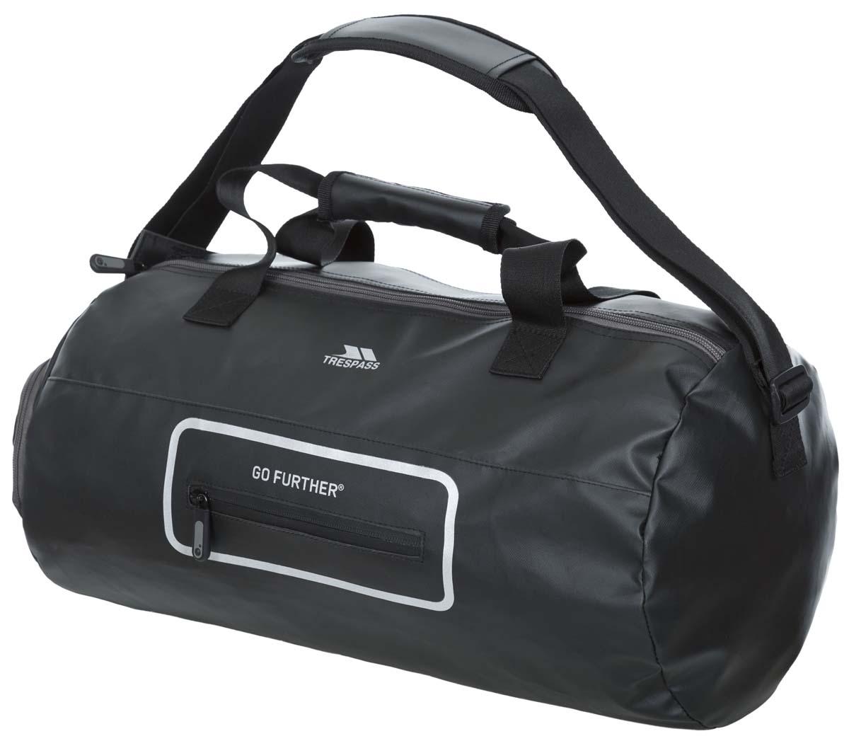 Сумка спортивная Trespass Tambor, цвет: черный, 20 лBM8434-58AEНепромокаемая сумка объемом 20 л.