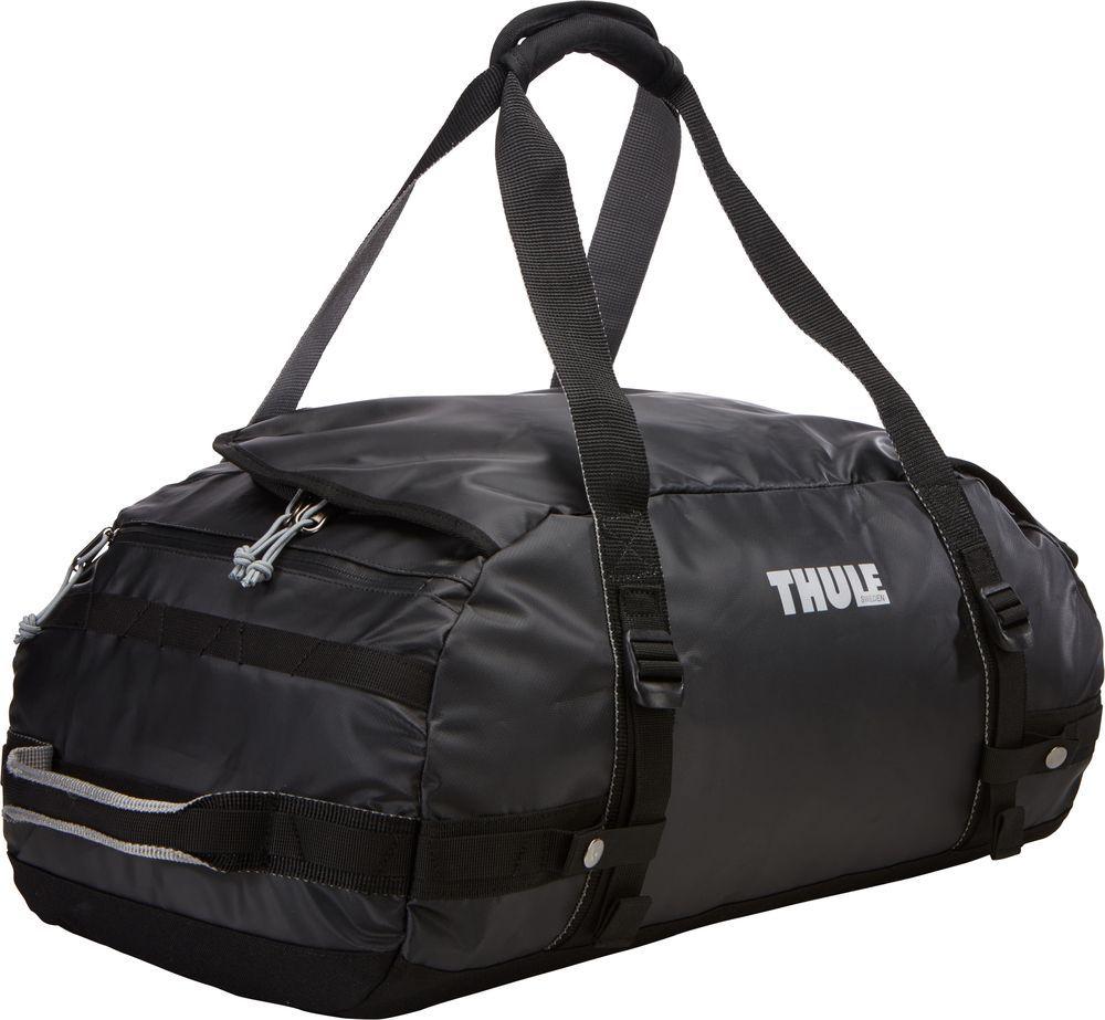 Спортивная сумка-баул Thule Chasm, цвет: черный, 40 л. Размер S221101Thule Chasm Small - Эти жесткие, устойчивые к неблагоприятным погодным условиям сумки с широко раскрывающимся основным отделением и съемными ремнями — ваши надежные спутники в любой поездке.