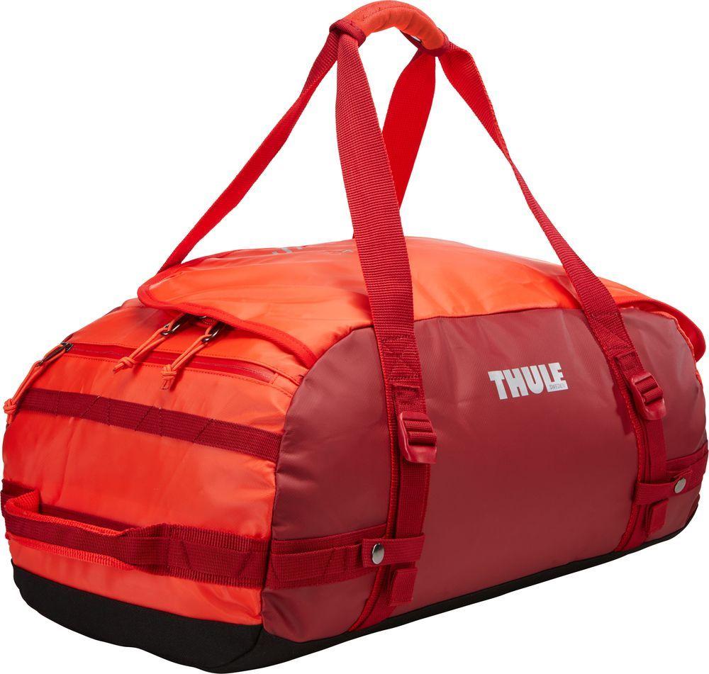 Спортивная сумка-баул Thule Chasm, цвет: ярко-оранжевый, 40 л. Размер S221103Thule Chasm Small - Эти жесткие, устойчивые к неблагоприятным погодным условиям сумки с широко раскрывающимся основным отделением и съемными ремнями — ваши надежные спутники в любой поездке.