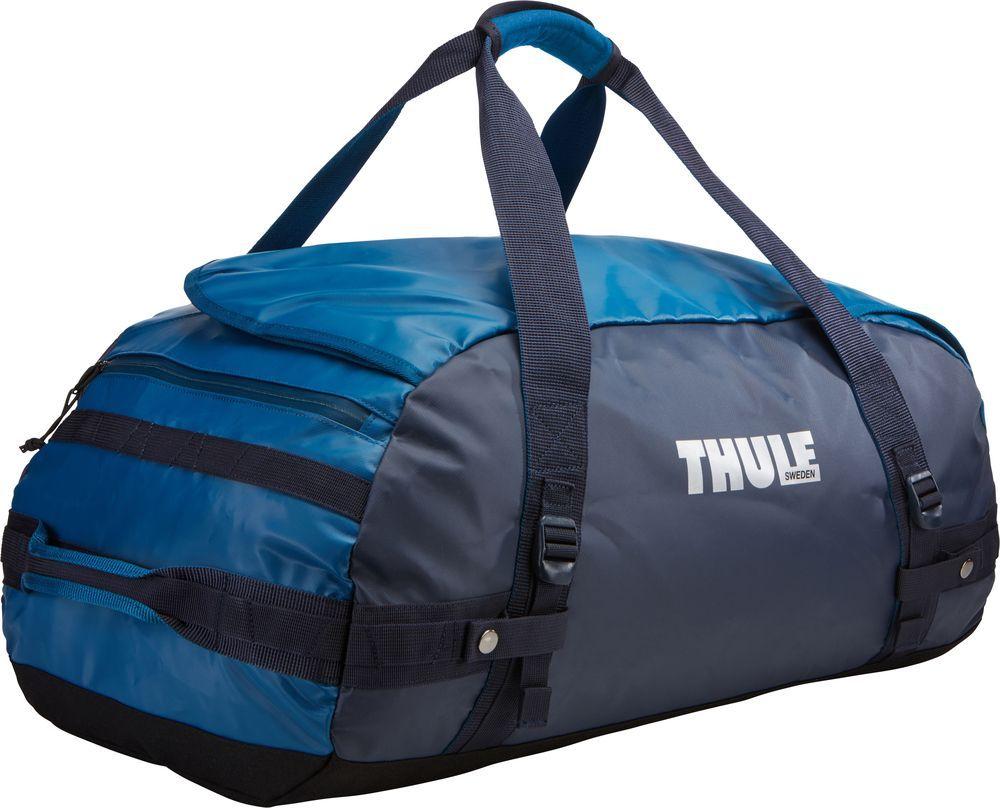 Спортивная сумка-баул Thule Chasm, цвет: синий, 70 л. Размер M221202Thule Chasm Medium - Эти жесткие, устойчивые к неблагоприятным погодным условиям сумки с широко раскрывающимся основным отделением и съемными ремнями — ваши надежные спутники в любой поездке.