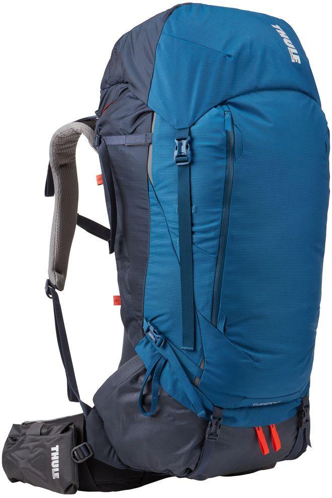 Рюкзак туристический мужской Thule Guidepost, цвет: синий, 75 л222101Thule Guidepost 75 л идеально подходит для недельных походов. Рюкзак отличается настраиваемой системой крепления TransHub, обеспечивающей идеальную посадку, поворачивающимся набедренным ремнем, который позволяет рюкзаку повторять ваши движения, и крышкой, способной трансформироваться в дополнительный рюкзак, который поможет вам покорить любую вершину.