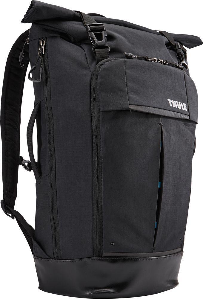 Рюкзак городской Thule Paramount Rolltop , цвет: черный, 24 лBP-001 BKРюкзак Thule Paramount, 24 л - Прочный городской рюкзак со сворачивающейся верхней частью превосходно защищает электронику. Он имеет несколько молний, чтобы любую вещь можно было достать прямо на ходу.