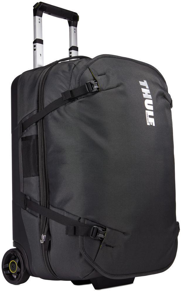 Сумка дорожная Thule Subterra Duffel, цвет: темно-серый, 56 л3203449Багажная сумка «три в одном» легко разделяется на два независимых отделения для переноски, отвечающих требованиям к багажу.