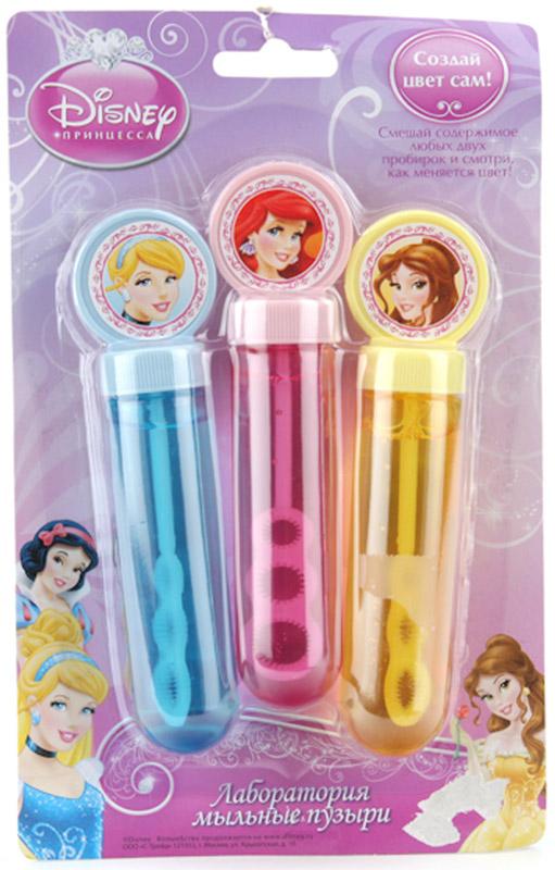 Играем вместе Мыльные пузыри Принцессы Диснея 3 шт