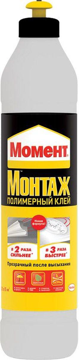 """Клей полимерный Момент """"Монтаж"""", 0,25 л 1897367"""