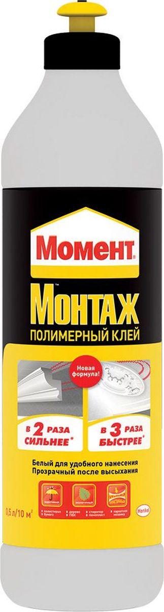 """Клей полимерный Момент """"Монтаж"""", 0,5 л 1898437"""