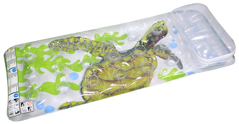 Надувной матрас-бар Intex Черепаха, 18 лунок, 188 х 71 см. с58878с58878надувной матрас.-бар прозр.(18 лунок) 188х71см 2цв.
