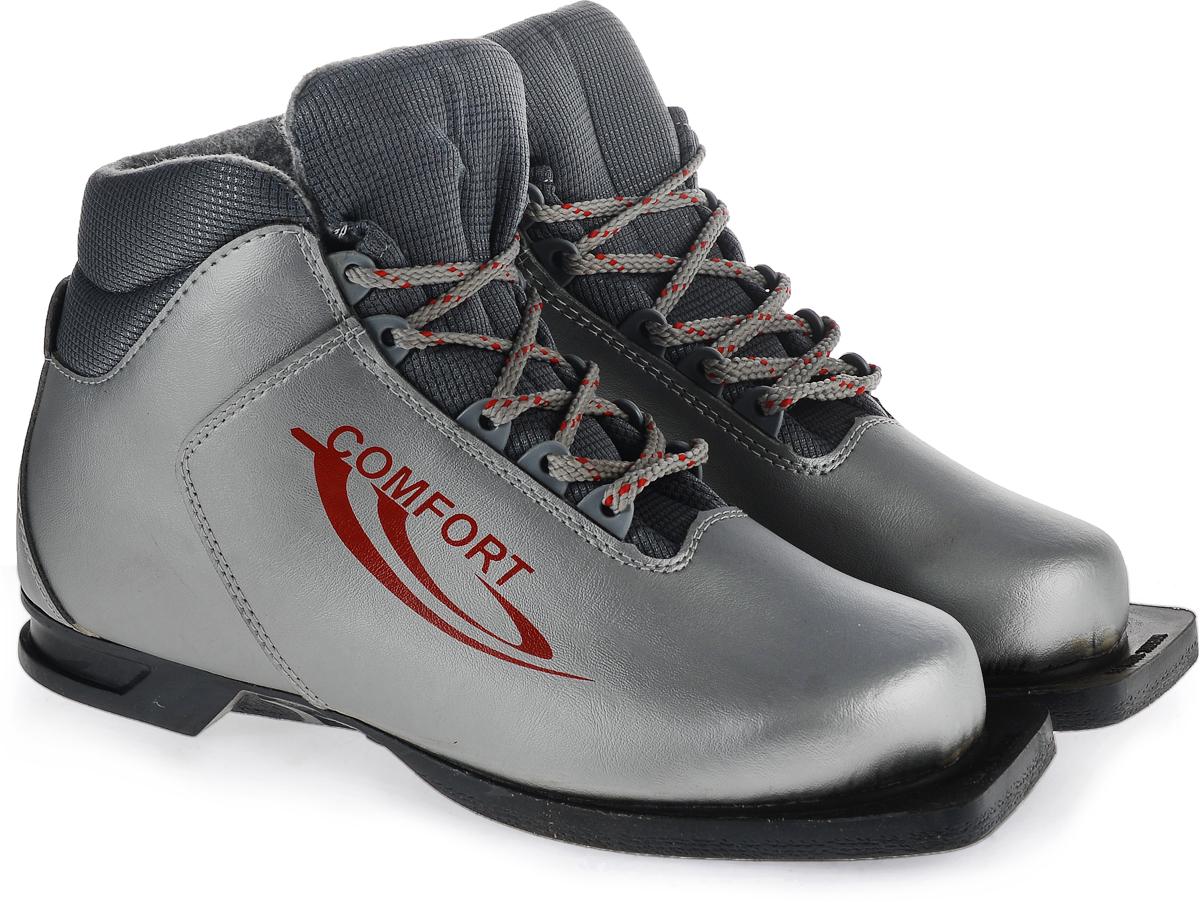 """Ботинки лыжные Marax """"Comfort"""", цвет: серебро. 340 Marax Comfort 340_серебро_41"""