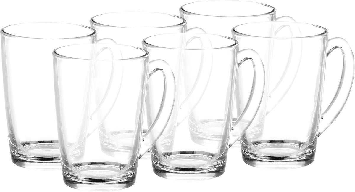 Набор кружек Luminarc New Morning, 320 мл, 6 штE3415_прозрачныеНабор Luminarc New Morning состоит из шести кружек с удобными ручками, выполненных из прочного стекла. Посуда Luminarc будет радовать вас качеством изготовления. Объем кружки: 320 мл. Диаметр (по верхнему краю): 8 см. Высота: 11 см.