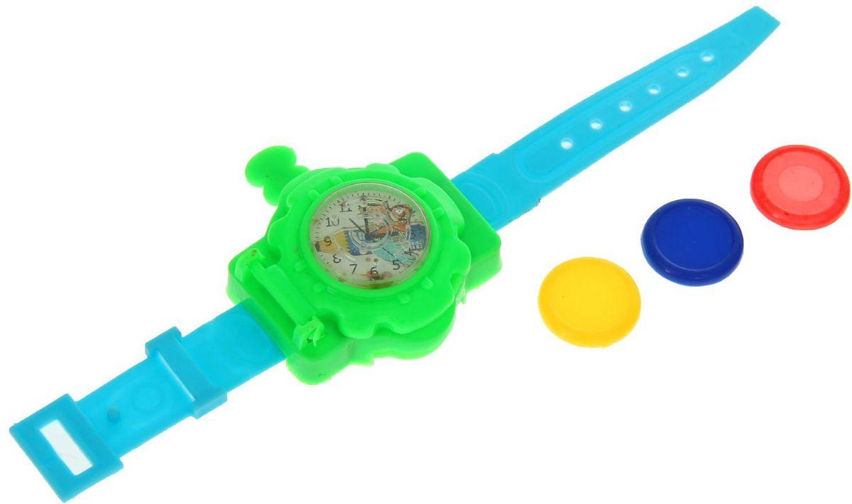 Sima-land Стрелялка Часы с головоломкой 1160865