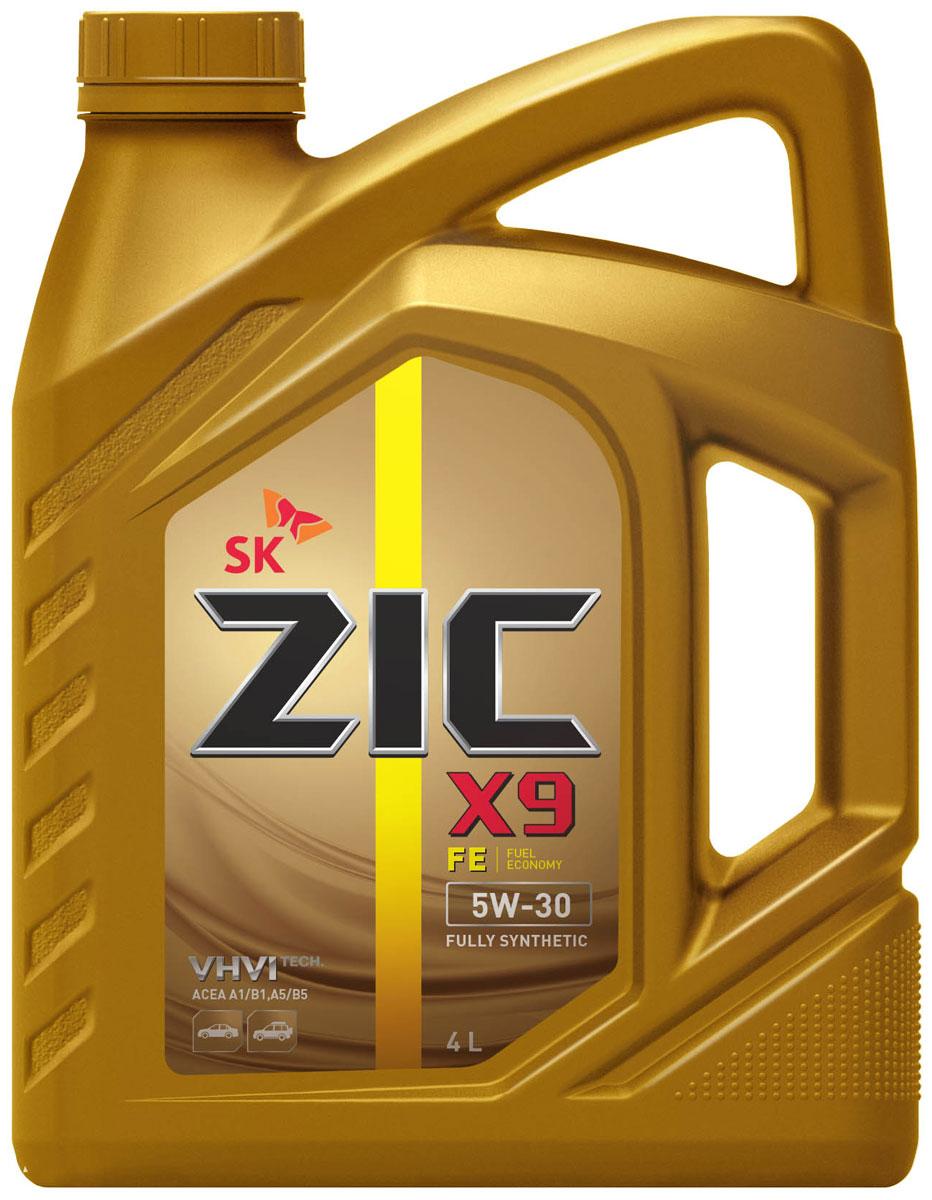 Масло моторное ZIC X9 FE, синтетическое, класс вязкости 5W-30, 4 л. 162615162615ZIC X9 FE - всесезонное полностью синтетическое моторное масло премиум- класса с повышенной топливной экономичностью. Изготовлено на основе базового масла YUBASE и сбалансированного пакета современных присадок. Плотность при 15°C: 0,8528 г/см3. Температура вспышки: 226°С. Температура застывания: -42,5°С. Индекс вязкости: 170.