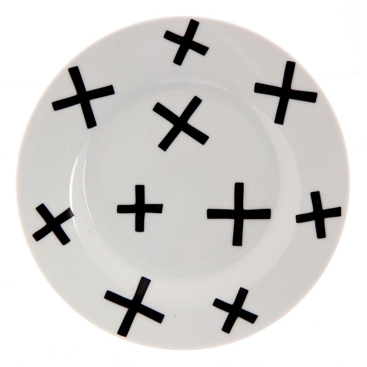Тарелка мелкая Сотвори чудо My Little Cross, диаметр 15,5 смVT-1520(SR)Хотите обновить интерьер кухни или гостиной? Устраиваете необычную фотосессию или тематический праздник? А может, просто ищете подарок для близкого человека? Посуда Сотвори Чудо — правильный выбор в любой ситуации. Тарелка Сотвори Чудо, изготовленная из изящного фаянса нежного сливочного цвета, оформлена оригинальным рисунком со стойкой краской. Пригодна для посудомоечной машины.
