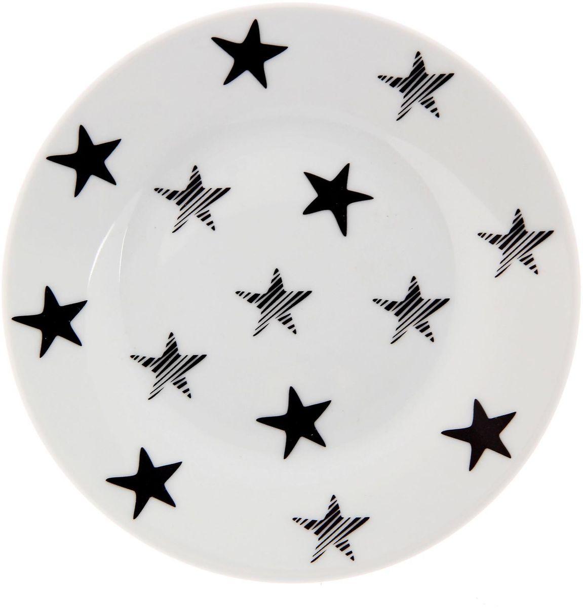 Тарелка мелкая Сотвори чудо My Little Star, диаметр 15,5 см2277852Хотите обновить интерьер кухни или гостиной? Устраиваете необычную фотосессию или тематический праздник? А может, просто ищете подарок для близкого человека? Посуда « Сотвори Чудо» — правильный выбор в любой ситуации. Её достоинства: изящный фаянс нежного сливочного цвета; стойкость краски; пригодность для посудомоечных машин.
