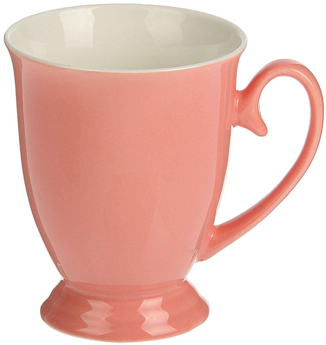 Кружка Доляна Венеция, цвет: розовый, 300 млVT-1520(SR)Хотите обновить интерьер кухни или гостиной? Устраиваете необычную фотосессию или тематический праздник? А может, просто ищете подарок для близкого человека?Кружка станет любимым аксессуаром на долгие годы. Относитесь к изделию бережно, и оно будет дарить прекрасное настроение каждый день!