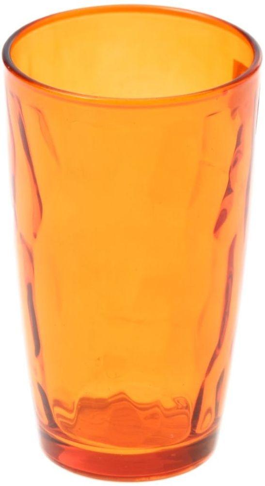 Стакан Доляна Венский вальс, цвет: оранжевый, 340 мл335153Стеклянные изделия серии «Венский вальс» подходят для повседневного использования. Стакан из стекла, окрашенного в яркий цвет методом напыления, порадует каждого ценителя оригинальности. Достоинства: оригинальный дизайн делает предметы украшением интерьера; материал не впитывает запахов; поверхность легко отмывается. Чтобы предметы радовали внешним видом как можно дольше, соблюдайте правила ухода: мойте только вручную; избегайте использования высокоабразивных средств и металлических губок; не допускайте падений и ударов. Окружайте себя красивой посудой и будьте в хорошем настроении!