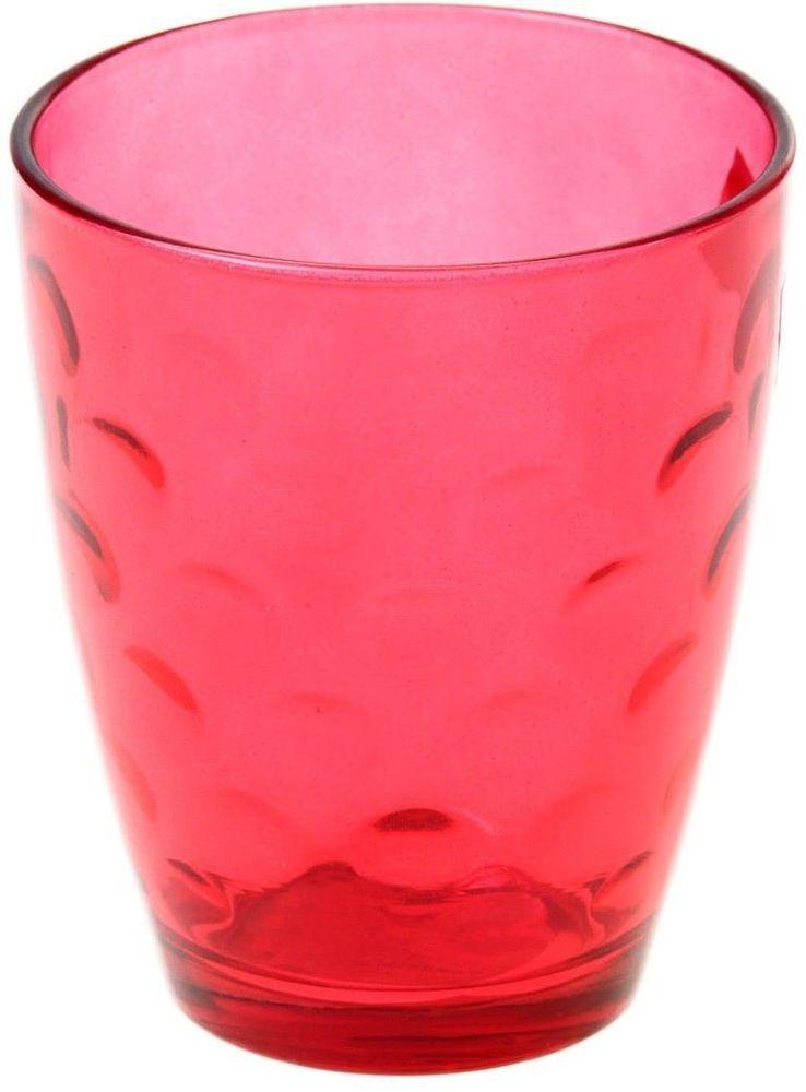 Стакан Доляна Венский вальс, цвет: красный, 400 млVT-1520(SR)Стеклянные изделия серии «Венский вальс» подходят для повседневного использования. Стакан из стекла, окрашенного в яркий цвет методом напыления, порадует каждого ценителя оригинальности.Достоинства:оригинальный дизайн делает предметы украшением интерьера;материал не впитывает запахов;поверхность легко отмывается.Чтобы предметы радовали внешним видом как можно дольше, соблюдайте правила ухода:мойте только вручную;избегайте использования высокоабразивных средств и металлических губок;не допускайте падений и ударов.Окружайте себя красивой посудой и будьте в хорошем настроении!