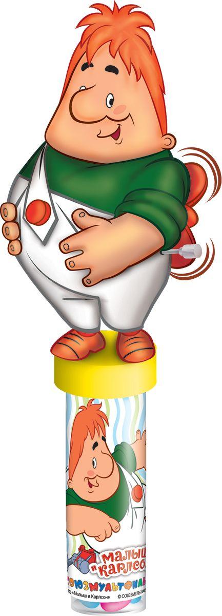 Союзмультфильм фруктовый мармелад с игрушкой, 20 гУТ16383Пластиковая туба с игрушкой в виде героев Союзмультфильма. В самой тубе мармелад в сахарной глазури 20 г россыпью.
