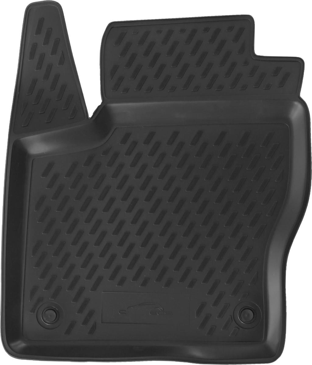 Коврик в салон автомобиля Element для Ford Focus 3, 04/2011 - 2015, передний левыйCARFRD00001hflКоврик улучшит внешний вид салона автомобиля и надежно убережет его от пыли, грязи и сырости, а значит, защитит кузов от коррозии. Полиуретановый коврик гладкий, приятный и не пропускает влагу. Полиуретановый автомобильный коврик произведен из высококачественного материала, который держит форму и не пачкает обувь. Коврик надежно крепится на полу и не скользит, что очень важно во время движения, особенно для водителя. Изделие из полиуретана надежно удерживает грязь и влагу, при этом всегда выглядит довольно опрятно. И чистится он очень просто: как при помощи автомобильного пылесоса, так и различными моющими средствами.