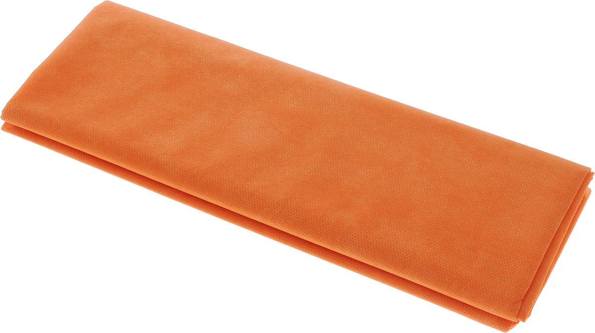 Скатерть Скатерочка, одноразовая, цвет: оранжевый, 110 х 140 см19201Одноразовая скатерть Скатерочка изготовлена из полипропилена.Предназначена для украшения стола, для проведения пикников имероприятий. Нетканый материал препятствует образованию следов от горячей посуды.Одноразовая скатерть Скатерочка - идеальное решение для дома или дачи.Размер скатерти: 110 х 140 см.