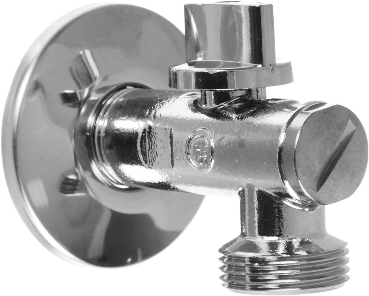 Кран шаровой Fornara угловой, с фильтром, Н - Н, 1/2 х 3/414609Кран Fornara применяется для водоснабжения, отопления и систем сжатого воздуха. Изделие оснащено фильтром. Диапазон рабочих температур: от +5°C до +95°C. Рабочее давление: 10 бар. Корпус крана покрыт никелем и хромирован гальваническим способом. Корпус обрабатывается специальным способом.