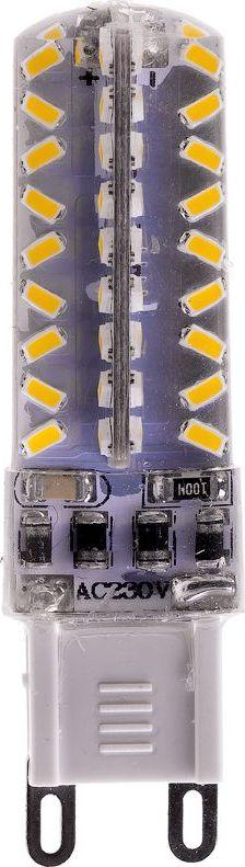 Лампа светодиодная REV, теплый свет, цоколь G9, 3W. 32382 232382 2Энергосберегающая диммируемая светодиодная лампа в форме кукуруза теплого свечения. Потребляемая мощность 3Вт. Интенсивность свечения аналогична обычной лампе накаливания мощностью 25Вт. Цоколь G9. Срок службы 30000 час. Световой поток 250Лм, цветовая температура 2700К. Гарантия 24 месяца.