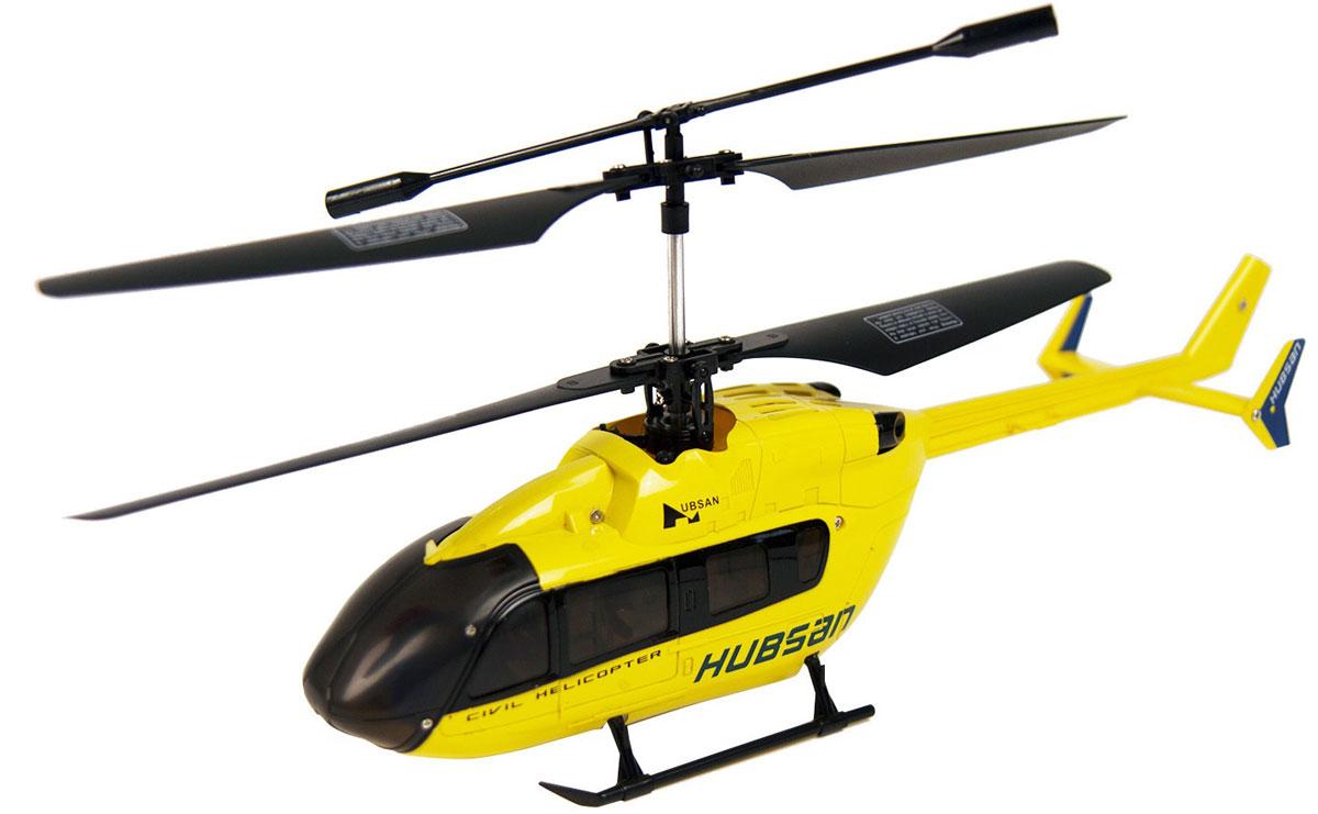 Hubsan Вертолет на радиоуправлении цвет желтый