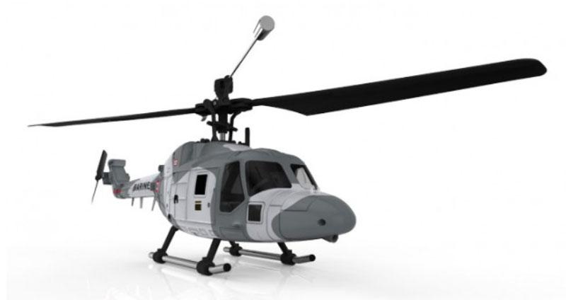 Hubsan Вертолет на радиоуправлении Lynx цвет серый