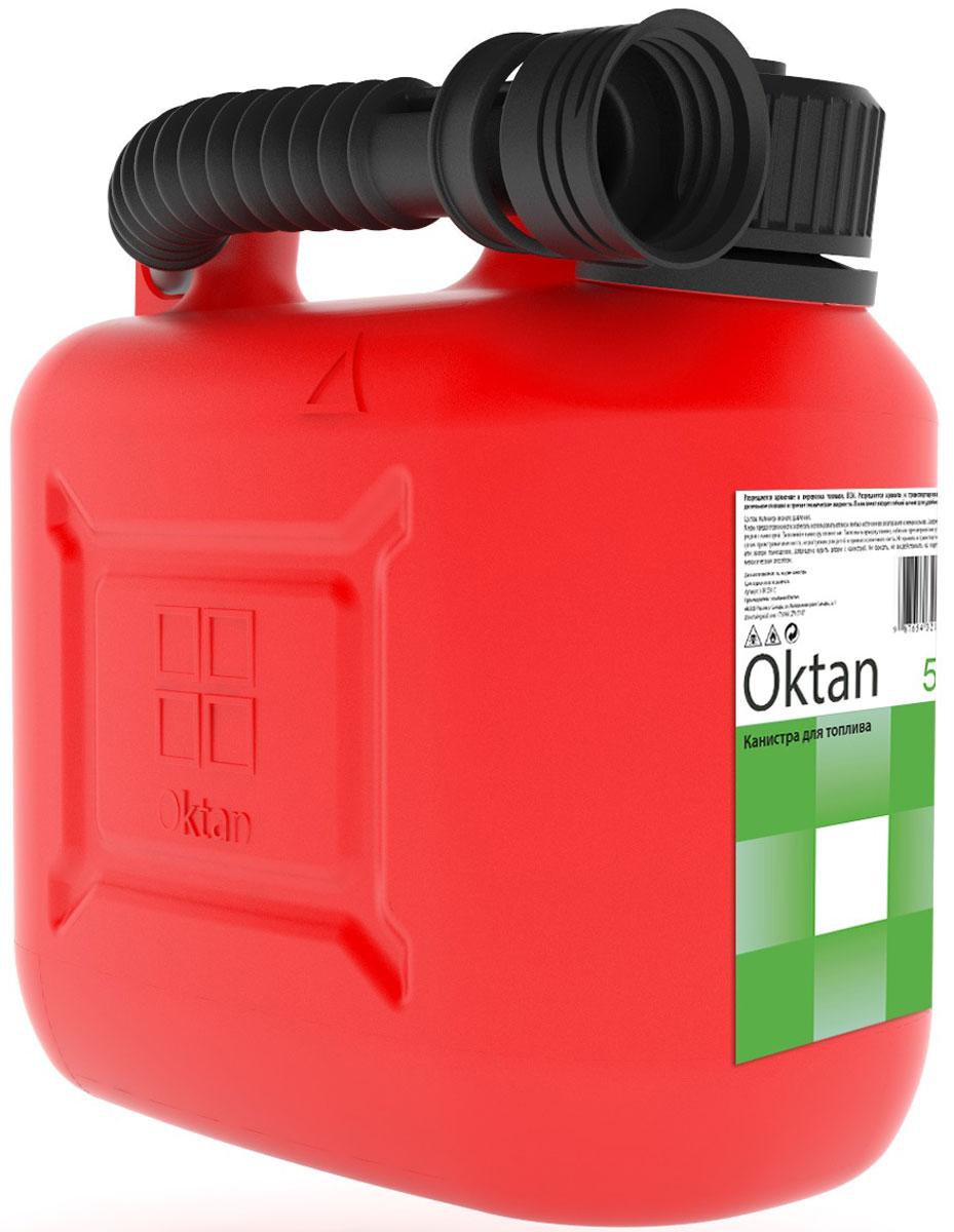 Канистра пластиковая OKTAN, для ГСМ, 5 л