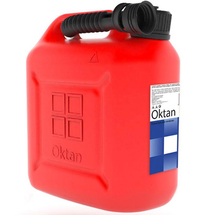 Канистра пластиковая OKTAN, для ГСМ, 10 л
