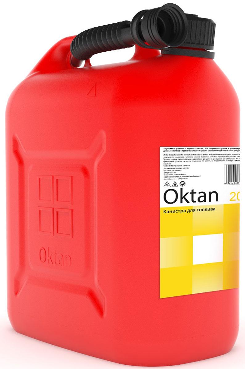 Канистра пластиковая OKTAN, для ГСМ, 20 л