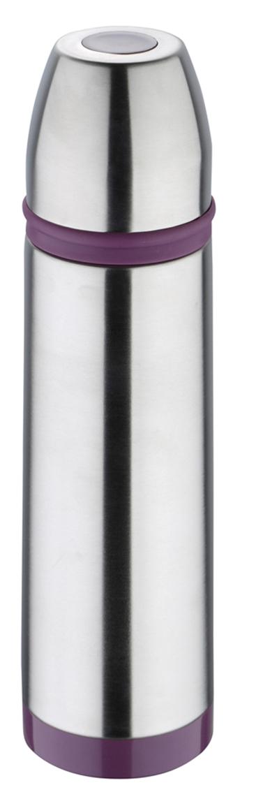 Термос Bergner, 500 мл. 7517 PU-BG7517 PU-BGТермос Bergner Sporty BG-7517-PU серии Sporty отлично подойдет для людей ведущих активный образ жизни. Объем термоса составляет 500 мл. Красивый стильный корпус выполнен из высококачественной нержавеющей стали 18/10 , которая считается одним из лучших материалов для изготовления термосов и столовой посуды. Фиолетовый цвет хорошо сочетается с металлическим корпусом, выгодно отличая этот термос от большинства аналогов.