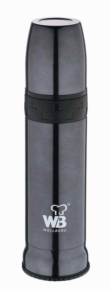 Термос многофункциональный Wellberg, 900 мл. 9481 WB9481 WBМногофункциональный термос Wellberg WB-9481 пригодится на отдыхе, на работе или в длинном утомительном путешествии. Термос изготовлен из высококачественной нержавеющей стали. Стильный корпус цвета металлик имеет двойные стенки, за счет которых горячие и холодные напитки не меняют свою температуру в течение долгого времени. Пластиковая крышка термоса послужит отличной удобной кружкой для чая или кофе. Объем термоса составляет 900 мл.