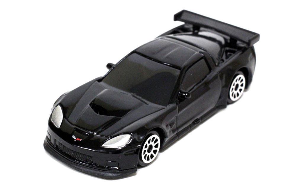 Pitstop Модель автомобиля Chevrolet Corvette C6-R цвет черный