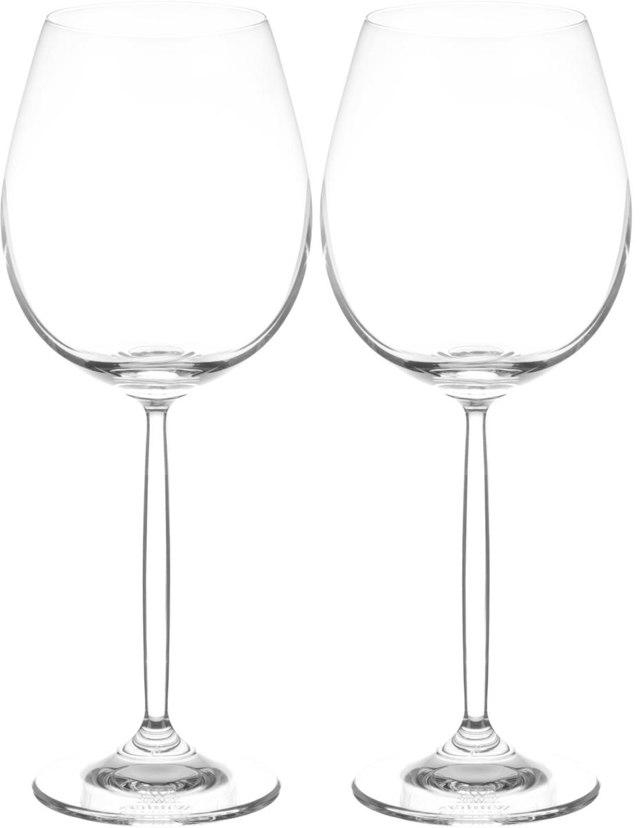 Набор бокалов для вина Wilmax, 480 мл, 2 штWL-888003 / 2CНабор Wilmax состоит из двух бокалов, выполненных из стекла. Изделия оснащены высокими ножками и предназначены для подачи вина. Они сочетают в себе элегантный дизайн и функциональность. Набор бокалов Wilmax прекрасно оформит праздничный стол и создаст приятную атмосферу за романтическим ужином. Такой набор также станет хорошим подарком к любому случаю. Бокалы можно мыть в посудомоечной машине. Диаметр бокала по верхнему краю: 6,5 см. Диаметр основания: 7. Высота бокала: 23 см.
