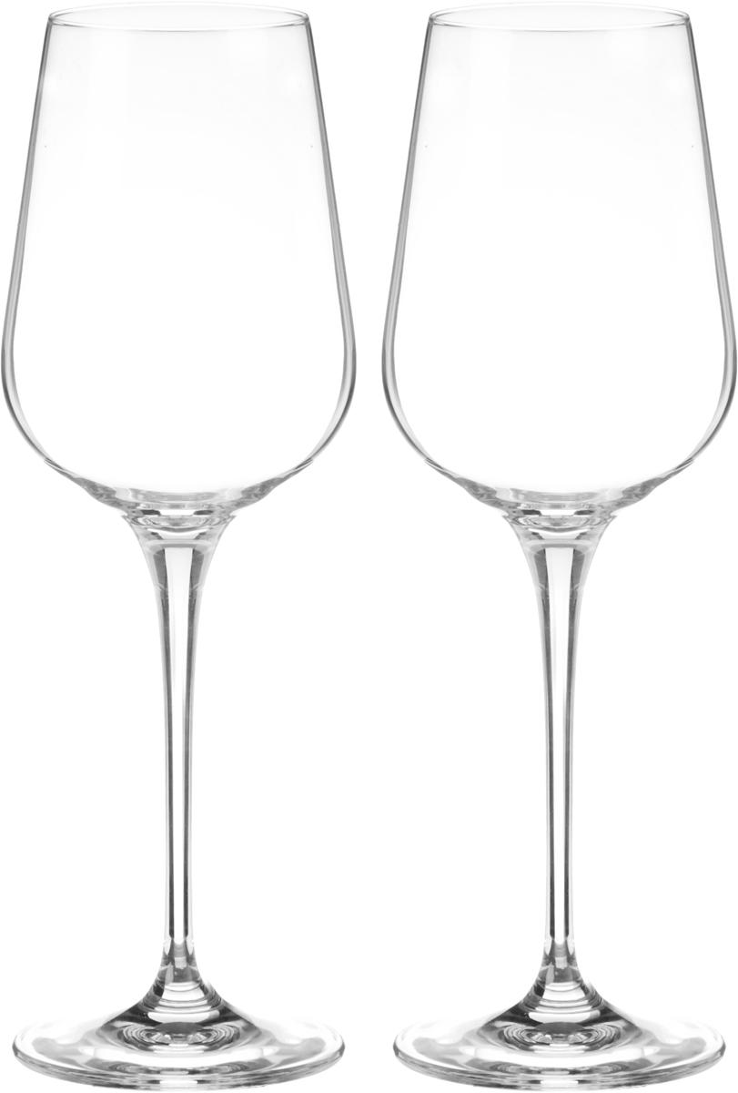 Набор бокалов для вина Wilmax, 430 мл, 2 штWL-888039 / 2CНабор Wilmax состоит из двух бокалов, выполненных из прочного стекла. Изделия оснащены высокими ножками и предназначены для подачи вина. Они сочетают в себе элегантный дизайн и функциональность. Набор бокалов Wilmax прекрасно оформит праздничный стол и создаст приятную атмосферу за романтическим ужином. Такой набор также станет хорошим подарком к любому случаю. Бокалы можно мыть в посудомоечной машине. Диаметр бокала по верхнему краю: 5,8 см. Диаметр основания: 8 см. Высота бокала: 24,5 см.