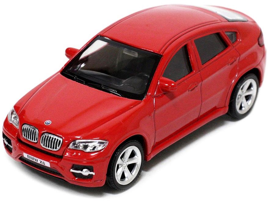 Pitstop Модель автомобиля BMW X6 цвет красный масштаб 1/43 PS-444002-R