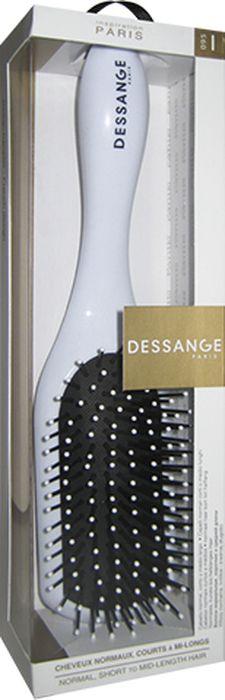 Dessange Щетка массажная, прямоугольная, для нормальных волос, коротких и средней длины, цвет: белыйFS-00103Массажная щетка Dessange подходит для нормальных волос, коротких и средней длины. Обеспечивает деликатный массаж кожи головы, улучшает микроциркуляцию. Идеально гладкая поверхность расчески и зубчиков полностью исключает травмирование волос и кожи головы. Пластик из которого изготовлена щетка, безопасен в использовании, высокоустойчив к истиранию и механическим воздействиям.Размер рабочей поверхности щетки: 4 см х 10 см.Длина щетки: 25 см.