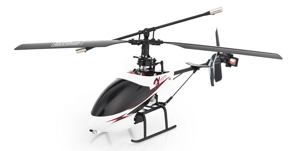 HappyCow Вертолет на радиоуправлении I-Helicopter цвет белый черный